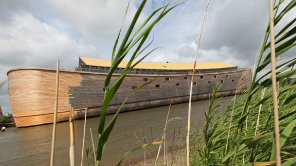 Johan Huibers, a wealthy Dutch Christian, has built a full-scale replica of Noah