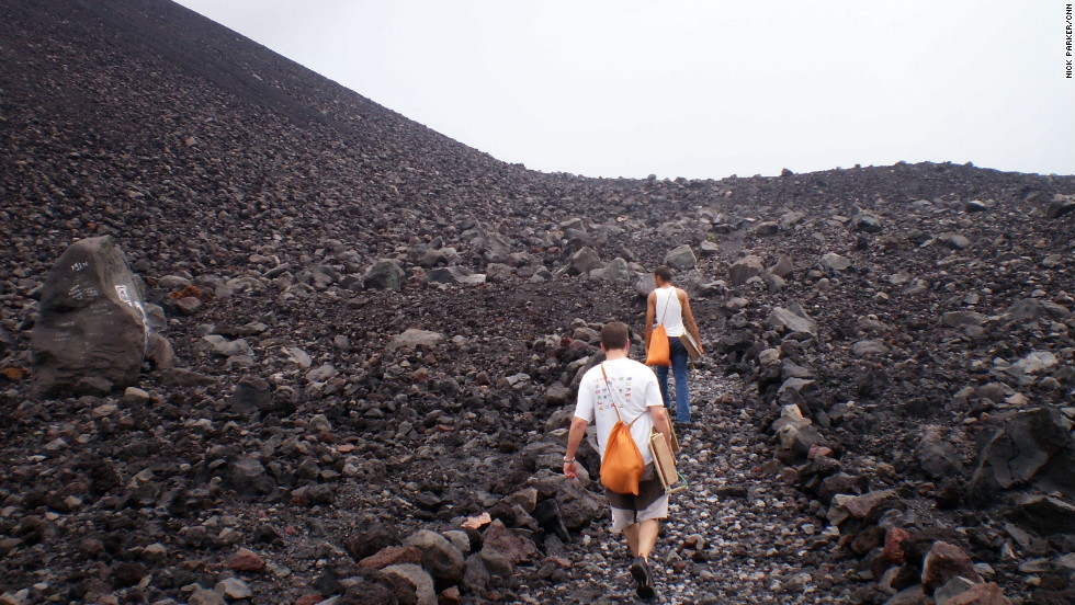 Volcano surfing down Cerro Negro is one of Nicaragua's more unusual tourism hooks. The industry is growing in the Central American country.