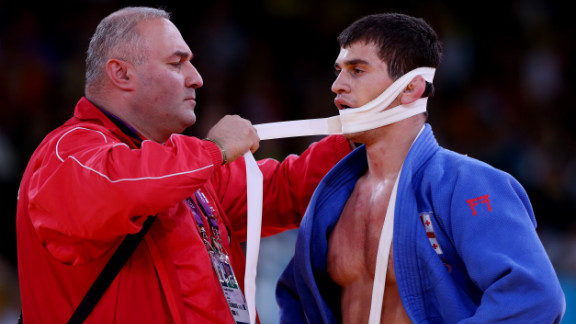 Ignoring the message to keep his mouth shut, a wrestler pays the price.