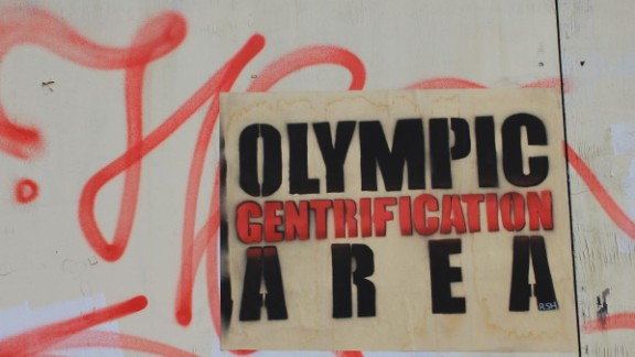 """Howard-Griffin describes a """"super-charged wave of gentrification that has crashed around Hackney Wick in anticipation of an Olympic property boom."""""""