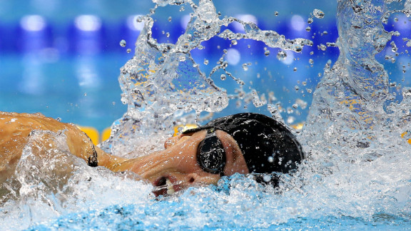 """U.S. swimmer Allison Schmitt competes in the women's 200-meter freestyle final on Day 4 of the London Olympics on Tuesday, July 31. Check out <a href=""""http://www.cnn.com/2012/07/30/worldsport/gallery/olympics-day-three/""""><strong>Day 3 of competition</strong></a> from Monday, July 30. The Games ran through August 12."""