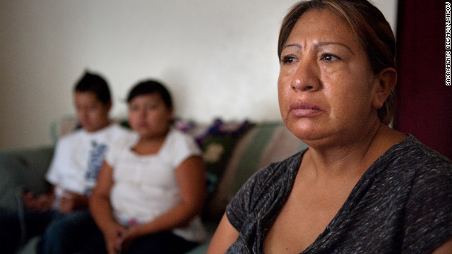 Juana Reyes, a mother of two, faces possible deportation after an arrest for trespassing.