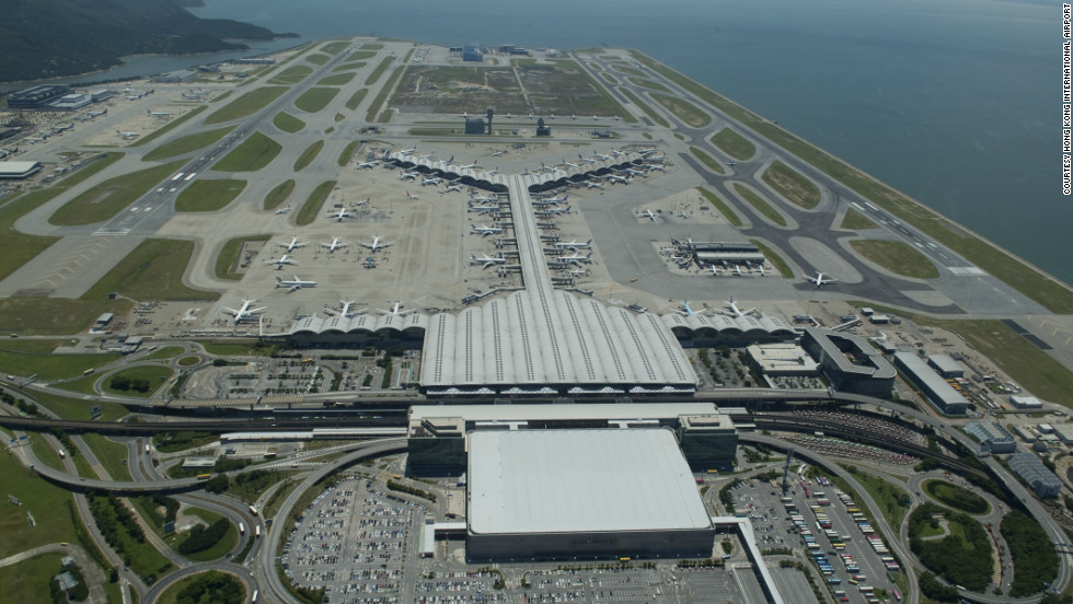 At a reported $20 billion, Hong Kong International Airport is one of the most expensive airport construction projects. It is also the world's busiest airport for cargo (freight and mail) and international freight (excluding mail).