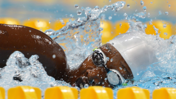 Mareme Faye of Senegal competes in the women