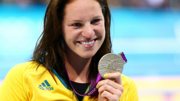 Australian swimmer Emily Seebohm may appear to be happy with her silver medal, but she entered the 100m backstroke final as firm favorite. The 20-year-old blamed her underperformance in Monday