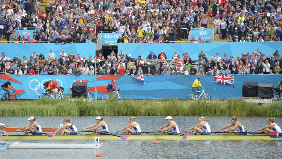 The U.S. team competes to win the gold medal in the women