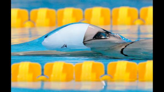 Belinda Hocking of Australia competes in the women