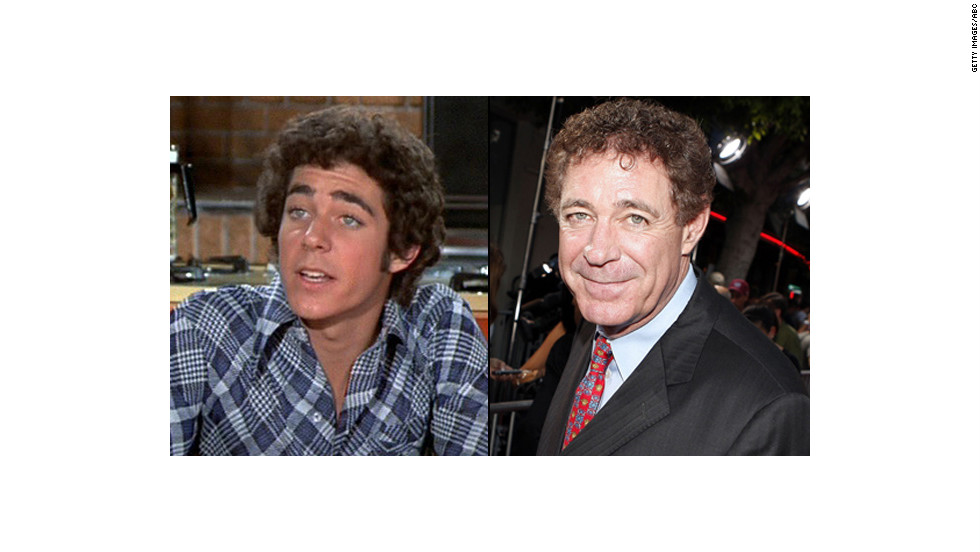 "Barry Williams, 62, went on to appear in TV shows like ""Three's Company,"" ""General Hospital"" and ""According to Jim"" since playing Greg Brady in the '70s. Williams still has those curls, as well as<a href=""http://tv.yahoo.com/blogs/tv-news/-the-brady-bunch--reunites-to-celebrate-florence-henderson-s-80th-birthday-210956940.html"" target=""_blank""> a lingering crush</a> on his former TV mom -- he gave her an intense kiss on the lips during the ""<a href=""http://www.eonline.com/news/511065/the-brady-bunch-reunion-on-the-talk-florence-henderson-turns-80-and-the-cast-looks-back-watch"" target=""_blank"">The Talk's"" ""Brady Bunch"" reunion.</a> Off-camera, he's a father of two and also an author with the memoir, ""Growing Up Brady: I Was a Teenage Greg."" You can keep up with Williams on his blog, <a href=""www.thegregbradyproject.com"" target=""_blank"">The Greg Brady Project. </a>"