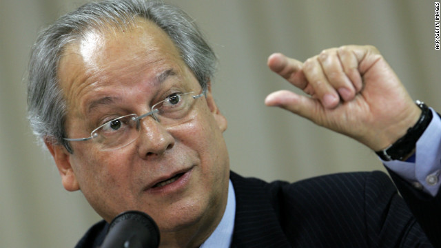 Brazil's former Chief of Staff Jose Dirceu is the main defendant in a corruption scandal.