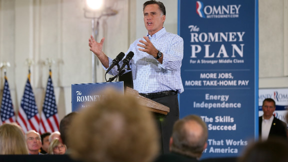 Presumptive GOP nominee Mitt Romney campaigned in Colorado Thursday.