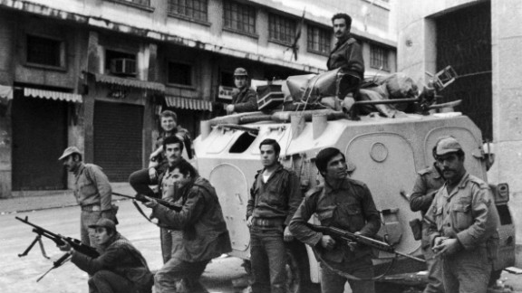 The civil war broadly pitted Palestinian and pro-Palestinian Muslim militias against Lebanon's Christian militias, devastating the country in the process.   An estimated 150,000 people were killed during the course of the conflict whilst thousands more fled the country.