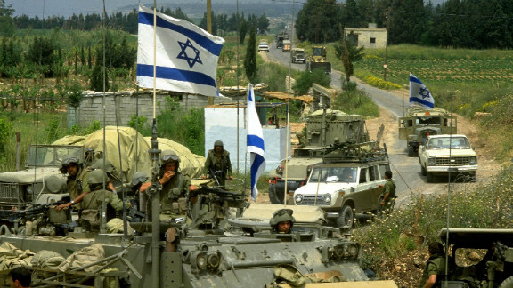 Instability in Lebanon has drawn in soldiers from neighbouring Israel and Syria at various points in the country's history.
