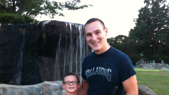 Shane Farlin and his son Shane Farlin II