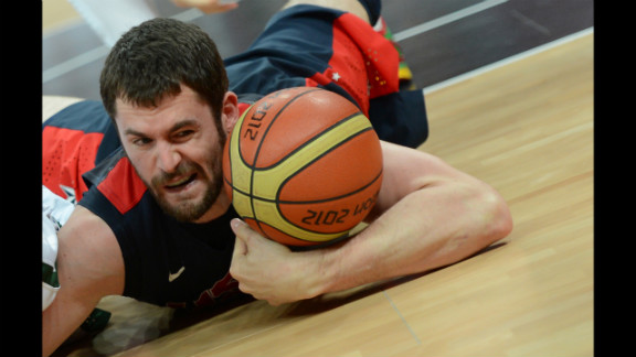 Little-known fact: U.S. basketballer Kevin Love