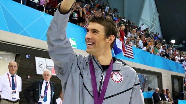 Michael Phelps' favorite things...