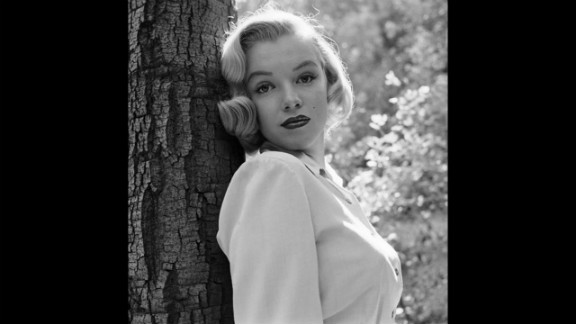 """Marilyn Monroe, then 24, is photograhed in Los Angeles' Griffith Park in 1950. Sunday, August 5, marked the 50th anniversary of Monroe's death at age 36. See more from this series on <a href=""""http://life.time.com/icons/marilyn-monroe-early-photos-los-angeles-1950"""" target=""""_blank"""" target=""""_blank"""">LIFE.com</a>."""