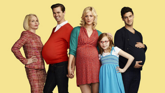"""NBC's """"The New Normal"""" features a gay couple who enlist a single mom in their quest to conceive a baby."""