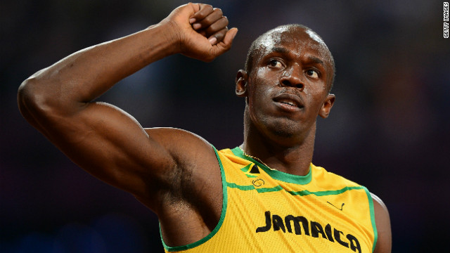 Usain Bolt retains his Olympic 100m title with the second fastest time in the Games' history
