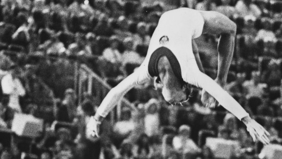 """The """"Korbut flip"""" revolutionized gymnastics, bringing an element of danger and acrobatic technique to the sport."""