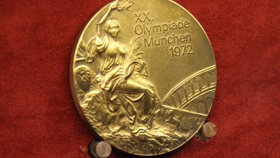 Her ground-breaking performances at the 1972 Munich Olympics won her three of these gold medals -- one in the team all-round event, one in the balance beam and one in the floor exercise.