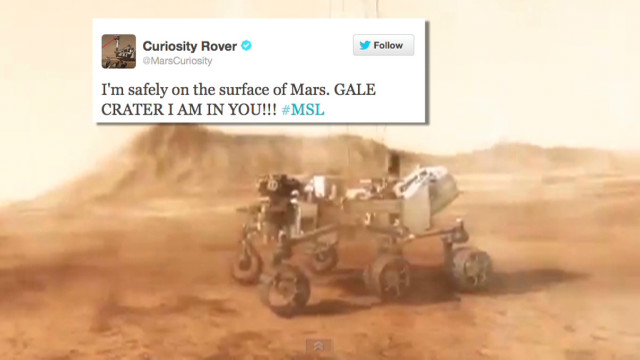mars rover landing interview - photo #22