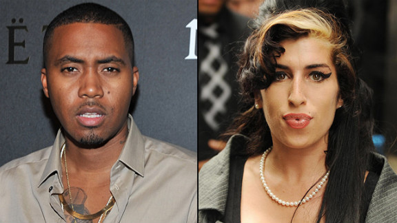 "Nas released ""Cherry Wine"" in July. The duet with the late Amy Winehouse appears on the rapper's latest album, ""Life Is Good."""