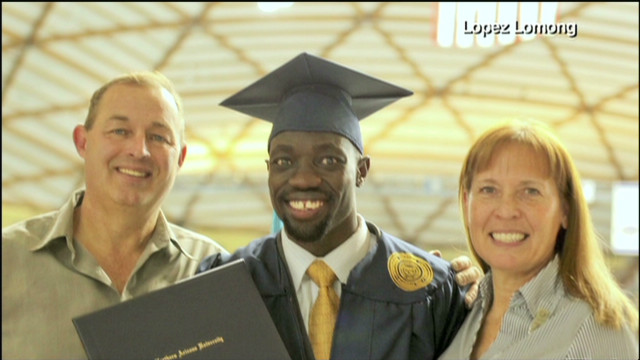 'Lost boy of Sudan' reunites with family