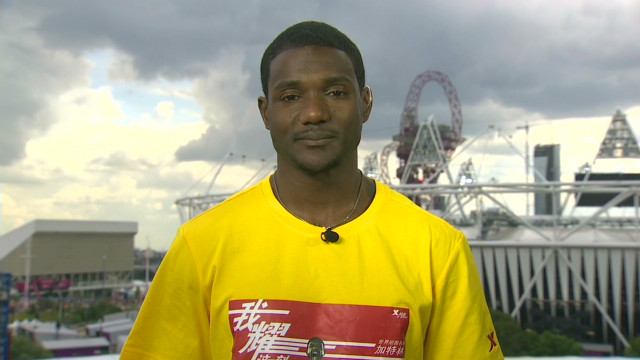 Gatlin: 'Glad to be part of history''