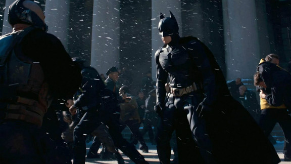 """""""The Dark Knight Rises"""" held off all comers."""