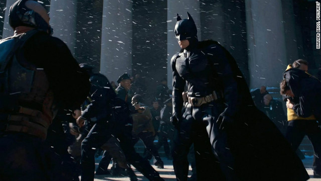 """The Dark Knight Rises"" held off all comers."