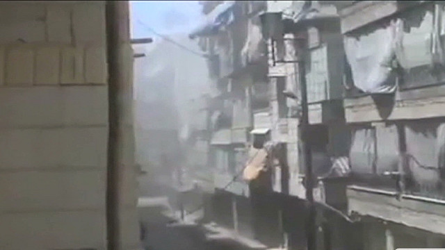 Large explosions in Aleppo, Syria