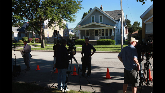 News crews report Monday from outside Page