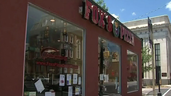 Robbers claimed to be taping for a reality show as they robbed two pizzeria workers in the town of Indiana, Pennsylvania.