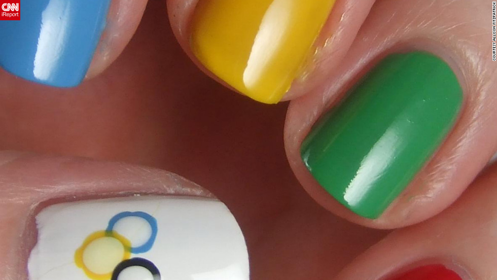 Olympic athletes have been spotted sporting patriotic or Olympic-themed manicures throughout the games, and fans wanted to get in on the fun. Click through the gallery to see the most creative, elaborate and patriotic Olympic nail art.