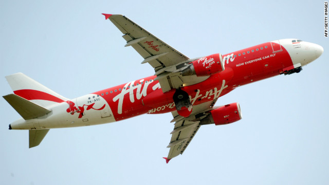 This file photograph taken on February 15, 2012 show an AirAsia plane taking off from Soekarno-Hatta airport in Jakarta.