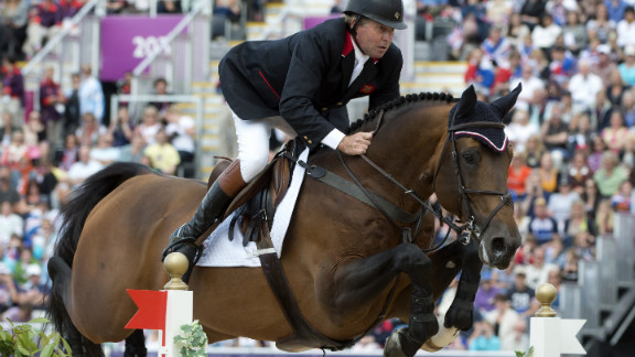 So far in the 2012 Summer Games, equestrian Nick Skelton is the United Kingdom