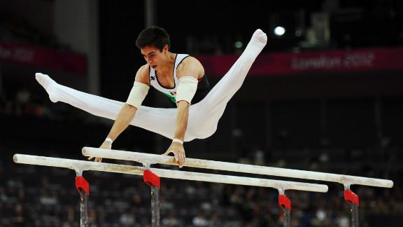 Daniel Corral Barron of Mexico competes in the men