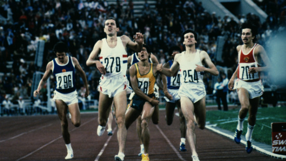 One of the highlights of Moscow was the 800 meter final, which featured Great Britain