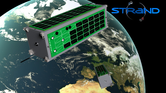 "British satellite manufacturer SSTL and the UK's University of Surrey are developing a ""novel in-orbit docking system"" using Kinect technology."