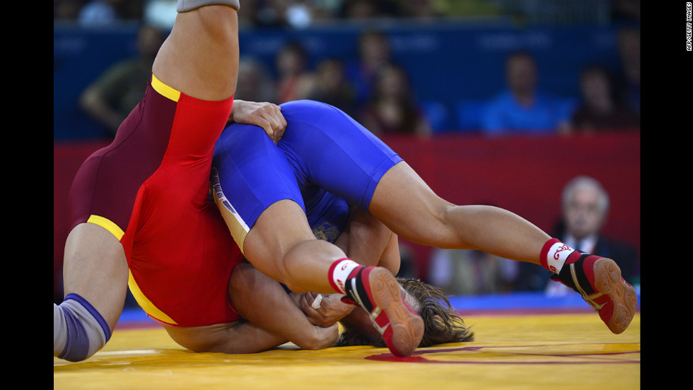 """Copping a feel"" is not a sanctioned wrestling move. Not in the Olympics, anyway."