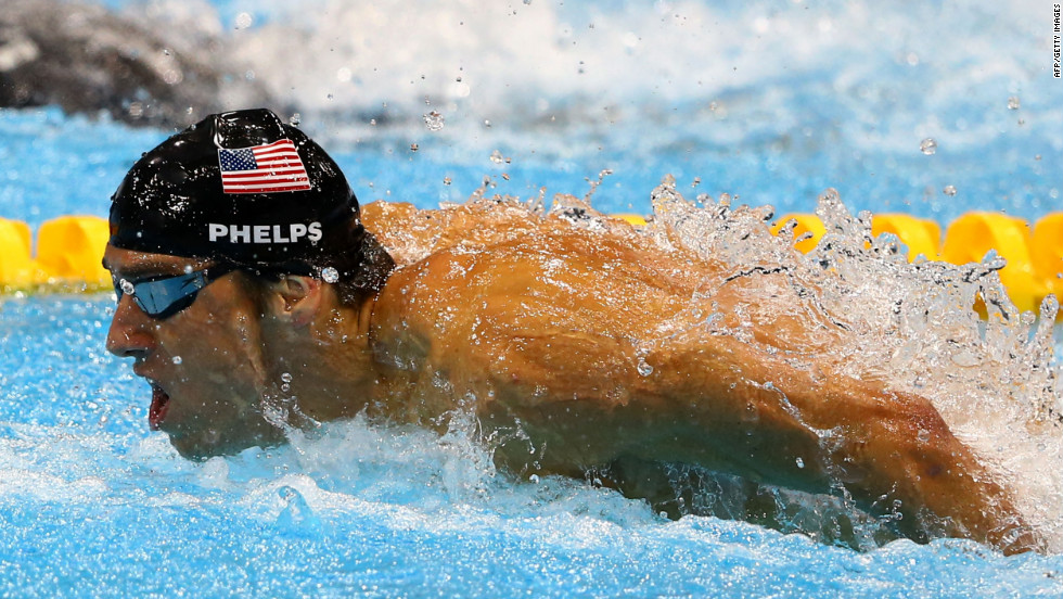 "Michael Phelps, U.S. swimmer: ""Cell phone."""