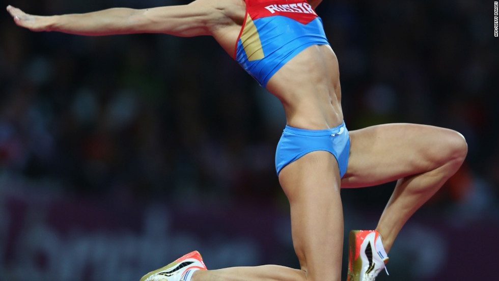 "Elena Isinbaeva, Russian pole vaulter: ""People who support me and love me."""