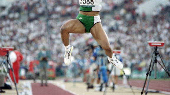 Ajunwa was banned in 1992 for four years from the sport after failing to pass a drug test.