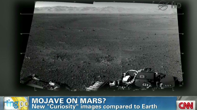 "New images from ""Curiosity"" rover"