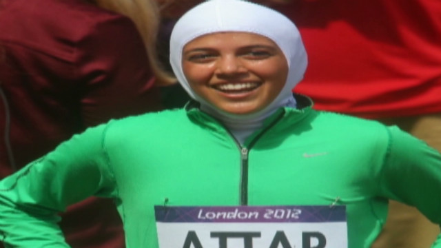 Saudi Olympic runner: 'Live your dreams'