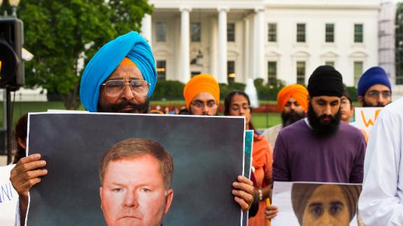 Sikhs gather at Washington