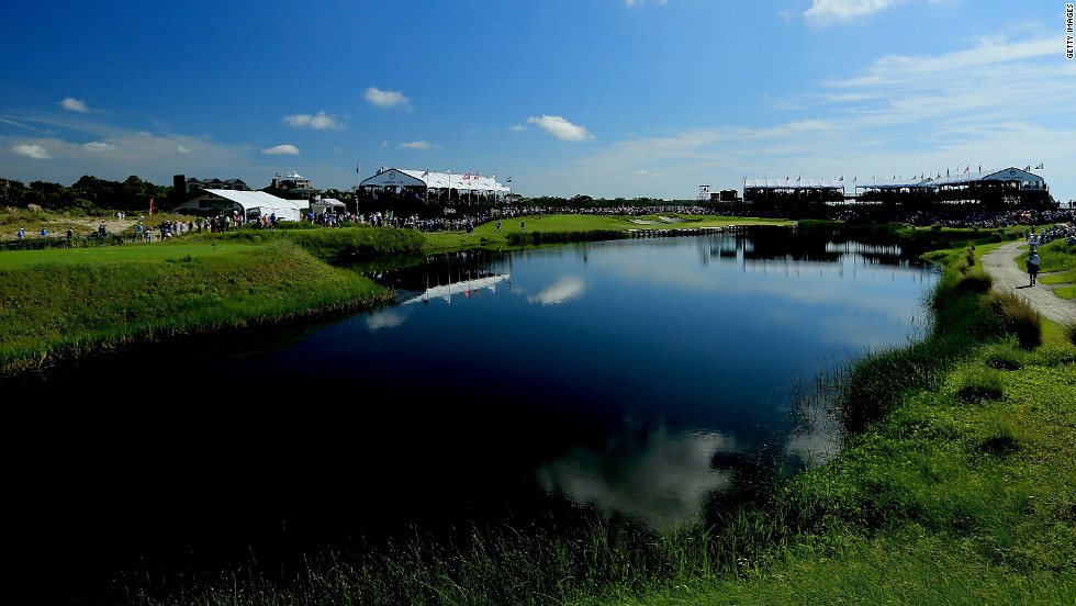 The PGA Championship got off to a gorgeous start Thursday.