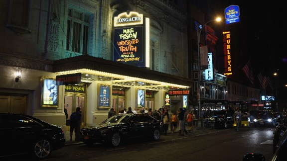 A undisclosed Twitter user is accused of posting violent threats against the Longacre Theater, says New York Police Comissioner Ray Kelly on Wednesday.