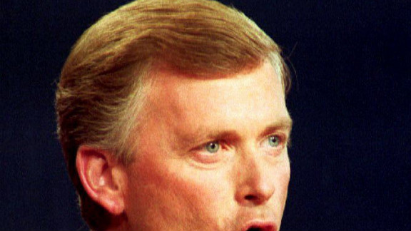 """Dan Quayle was supposed to become the Republican JFK, but instead to many he was a laughingstock. During the 1988 vice presidential debate, Democratic Sen. Lloyd Bentsen leveled a famous blow to Quayle, """"Senator, I knew Jack Kennedy. Jack Kennedy was a friend of mine. You"""
