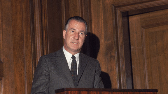 A first-term governor of Maryland and virtually unknown on the national stage, Spiro Agnew was drafted by Richard Nixon, ahead of GOP giants like Ronald Reagan and Nelson Rockefeller, because Nixon didn